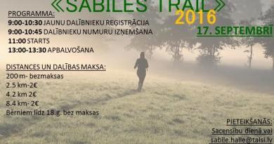 Sabile trail