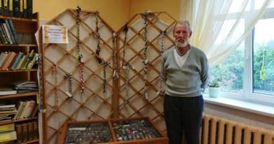 Sabiles bibliotēkā Harija Valtera šķiltavu kolekcijas izlase