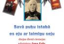 Sabilē dzejas dienā ciemosies rakstniece Jana Egle un dziesminieks Jānis Rūcis