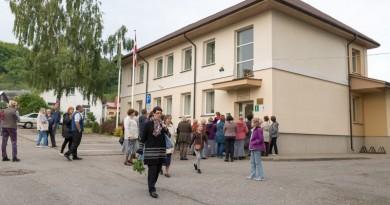 Talsu novada domes deputātu pieņemšanas oktobrī