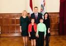 Viesošanās Rīgas pilī pie Valsts prezidenta Raimonda Vējoņa