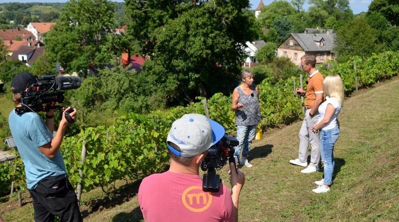 LNT televīzija Sabiles Vīna kalnā (1)