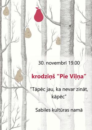 Krodziņš pie Viļņa_30 novembrī_2