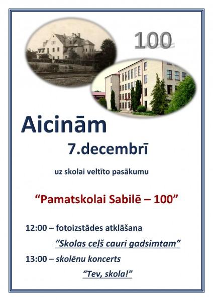 Sabiles pamatskolas jubileja_100