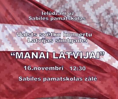 Svētku koncerts Sabiles pamatskolā_2