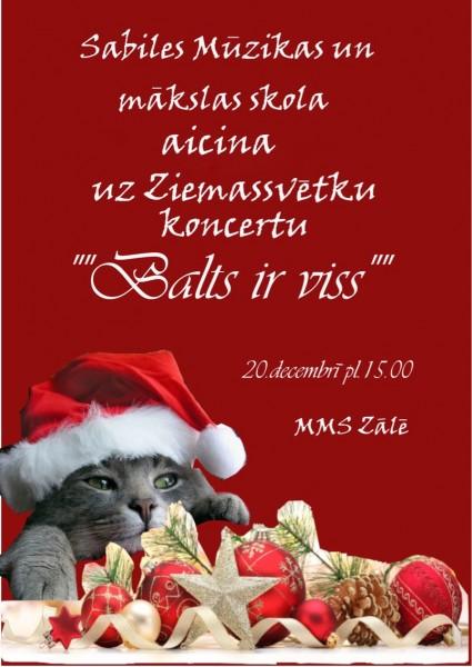 Sabiles Mūzikas un mākslas skola_Ziemassvētku koncerts_2018_3