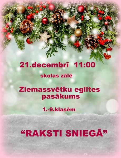 Sabiles pamatskola_Ziemassvētku pasākums_2019