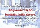 Sabilē 20. janvārī plkst. 16.00 barikāžu laika atcere