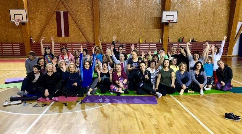 Sabiles sporta centrs_Pilates ar treneri Elitu Blumbahu_2019_janvāris