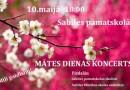 Sabiles pamatskolā 10. maijā plkst. 18.00 būs Mātes dienai veltīts koncerts