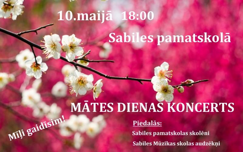 Sabiles pamatskola_Mates dienas koncerts_2019_10 maijs