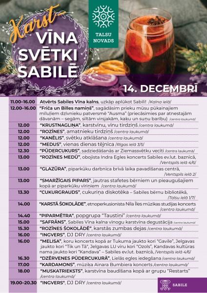 Sabile_Sestie_Karstvīna svētki_2019_14 decembris