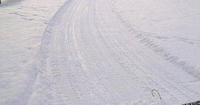 Pie Sabiles sporta centra ir sagatavota slēpošanas trase