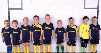 Lepojamies! Talsu novada sporta skolas Sabiles futbolisti U8 noslēdz telpu futbola sezonu Kurzemes sacensībās