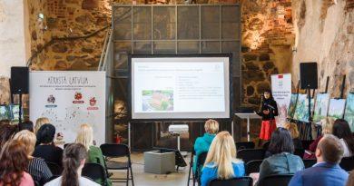 """Atjaunotā Sabiles sinagoga prezentēta konferencē """"Atrastā Latvija – 60 kultūras un dabas mantojuma veiksmes stāsti"""""""